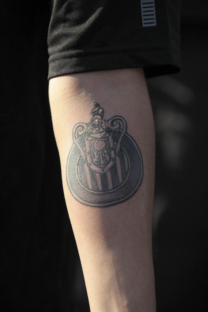 Dan Perleamlsroadtrip com  Dont Tread On Me Tattoo Forearm